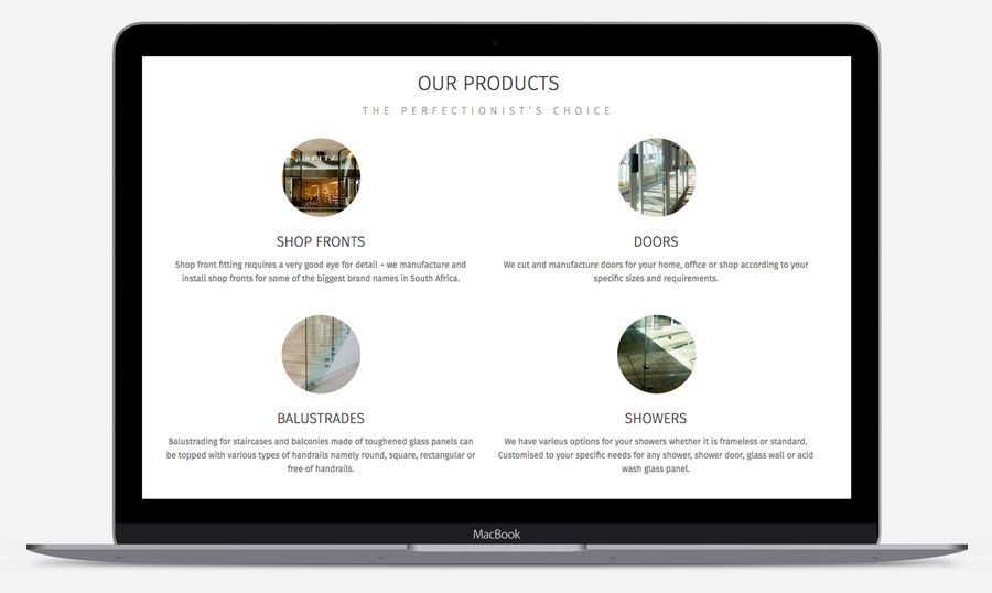 Aluminium shopfitters rock bottom agency rock bottom came to the rescue with a new website logo design business cards and great photos of some of their shopfronts and custom residential projects colourmoves